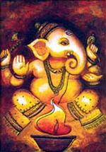 Молитвы к покровителю индийской астрологии Ганеше.